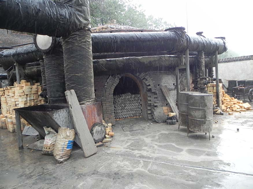碳化硅煅烧炉子